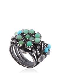 Bottega Veneta | Natural Stones Ring | Lyst