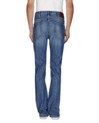 Paul Smith - Blue Denim Trousers for Men - Lyst