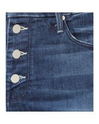 Mother Blue The Pixie Skinny Jeans