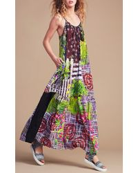 Clover Canyon - Multicolor Lattice Garden Maxi Dress - Lyst