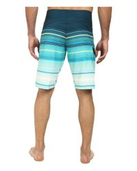 "Billabong | Blue All Day Stripe 21"" Boardshort for Men 