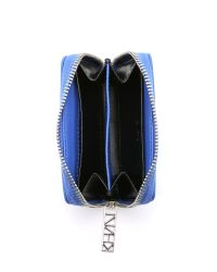 KENZO - Small Zip Around Wallet - Royal Blue - Lyst