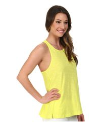 Roxy | Yellow Rockaway Tank Top | Lyst