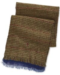 Polo Ralph Lauren | Brown Reversible Indigo Scarf for Men | Lyst