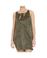 Manila Grace - Green Dress - Lyst
