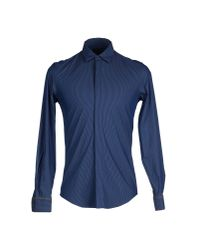 Antony Morato - Blue Shirt for Men - Lyst