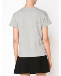 Être Cécile - Gray 'p Is For Parisienne' T-shirt - Lyst