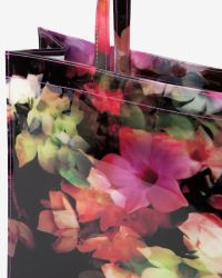 Ted Baker - Black Cadecon Small Cascading Floral Shopper - Lyst