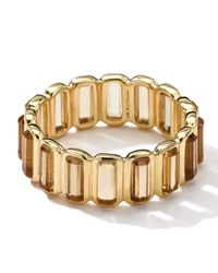 Ippolita   Metallic 18k Gold Rock Candy Gelato Mini-stone Vertical Ring   Lyst