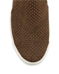 Aerin | Brown Marina Suede Slip-on Sneakers | Lyst