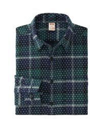 Uniqlo - Green Men Disney Project Flannel Long Sleeve Shirt for Men - Lyst
