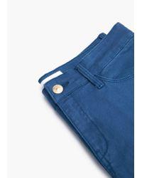 Mango | Blue Skinny Newpaty Jeans | Lyst