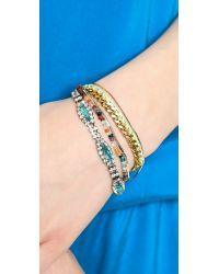Venessa Arizaga - Multicolor Saturn Day Bracelet - Jonquil - Lyst