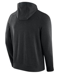 Nike - Black Cotton Tracksuit With Logo Detail for Men - Lyst