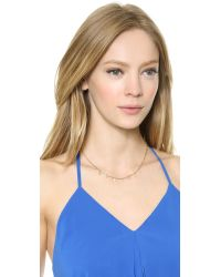 Vanessa Mooney - Metallic The Nayeli Necklace - Gold - Lyst