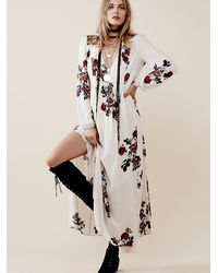 Free People | Natural Rosemary Dress | Lyst