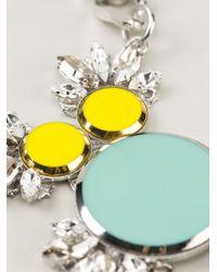 Anton Heunis - Metallic Embellished Crystal Necklace - Lyst