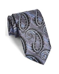 JZ Richards | Black J.z Richards Paisley Silk Tie for Men | Lyst