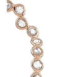 Lito   Metallic 18K Rose Gold Sway Earrings   Lyst