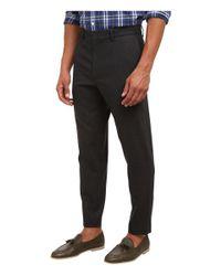 McQ | Gray Peg Leg Trouser for Men | Lyst