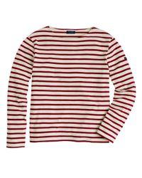 J.Crew | Red Saint James Unisex Meridien Ii Nautical T-Shirt for Men | Lyst
