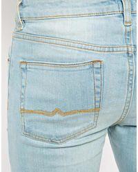 ASOS | Blue Super Skinny Jeans In Light Wash for Men | Lyst