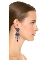 Erickson Beamon - Ripple Cascade Earrings - Blue Multi - Lyst