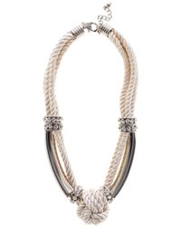 Coast | Pink Maris Knot Necklace | Lyst