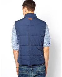 Pepe Jeans - Blue Gillet Hackney for Men - Lyst