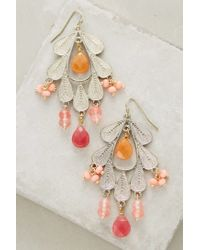 Anthropologie | Pink Melipona Earrings | Lyst