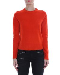 Rag & Bone - Red Alexis Sweater - Lyst
