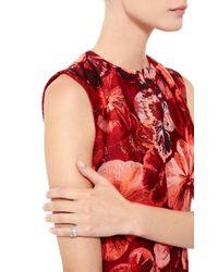 Joelle Jewellery | Metallic 18K White Gold Lace Phalanx Ring | Lyst