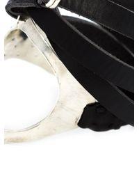 Y. Project   Black Wrap Hand Cuff   Lyst