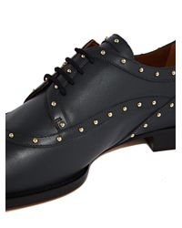 Valentino | Multicolor Womens Leather Studded Brogues | Lyst