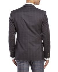Moods Of Norway - Gray Rolf Tonning Tonal Check Jacket for Men - Lyst