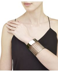 Arme De L'Amour | Metallic Large Stripe Cuff | Lyst