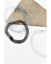 Urban Outfitters - Blue Lou Lou's Tattoo Choker Necklace Set - Lyst