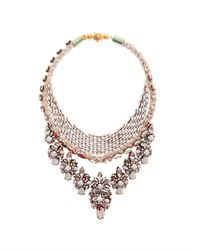 Shourouk | Pink River Necklace | Lyst