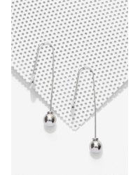 Nasty Gal | Metallic Disc Taker Earrings | Lyst
