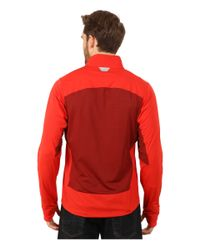 Patagonia | Red Wind Shield Hybrid Softshell Jacket for Men | Lyst