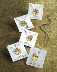 Sequin - Metallic Three-Pendant Talisman Necklace - Lyst