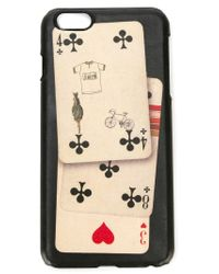 Paul Smith - Black Card Print Iphone 6 Cover for Men - Lyst