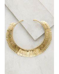 Anthropologie | Metallic Iluminada Collar Necklace | Lyst