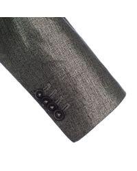Paul Smith | Men's Metallic Silver Linen Blazer for Men | Lyst