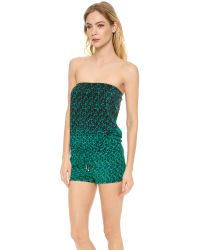 Marc By Marc Jacobs | Green Aurora Romper | Lyst