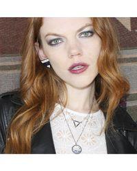 Adornia | Metallic Champagne Diamond Chrystie Necklace | Lyst