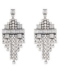 DANNIJO | Metallic Klein Earrings | Lyst