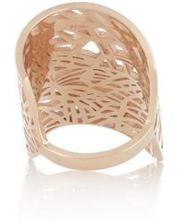 Repossi | Metallic Art Nouveau 18-Karat Rose Gold Diamond Ring | Lyst