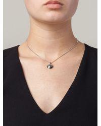 Lara Bohinc | Metallic 'eye' Necklace | Lyst