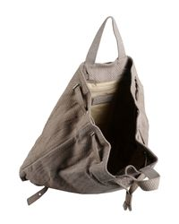 Orciani - Gray Rucksacks & Bumbags - Lyst